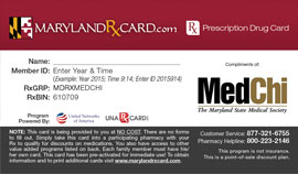 The Maryland Rx Card
